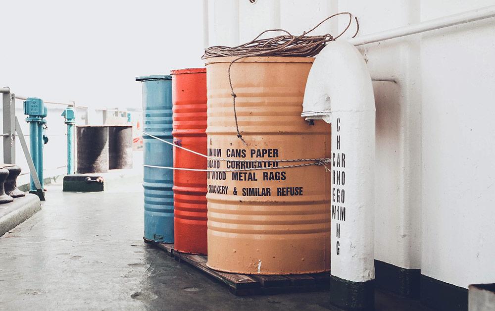 esempi di imballaggi per rifiuti